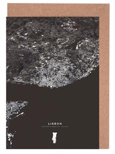Lisbon City Map