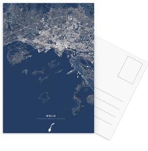 Oslo Color City Map