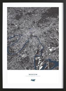 Moskau City Map