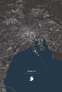 Dublin Color City Map