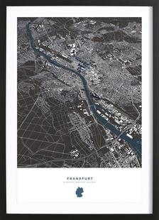 Frankfurt City Map