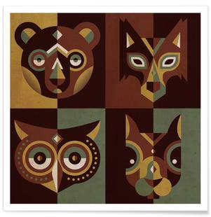 Wood Animals