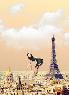 Paris Pinup