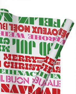 Playful Christmas Greetings / White