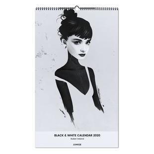 Black & White Calendar 2020 - Ruben Ireland