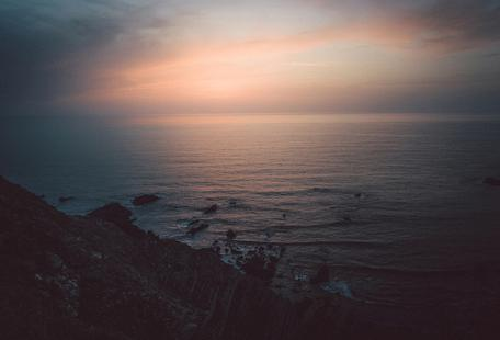 Taste of Sea Sunset