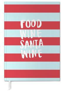 Food, Wine, Santa, Wine