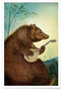 Mandolin Bear