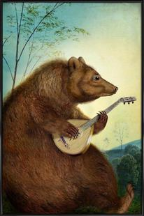 Mandolin Bear