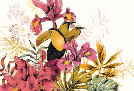 Tropical Garden Toucan