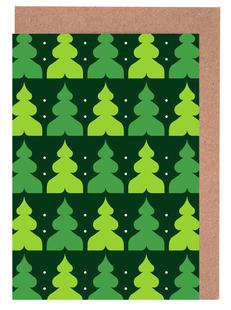 Green Christmas Forest