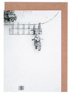 Winter White Bikes
