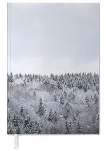 White Winter Forest