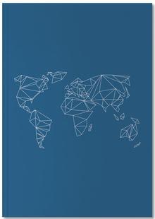 Geometrical World Indigo
