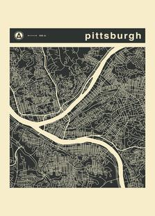 City Maps Series 3 Series 3 - Pittsburgh