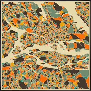 Stockholm Map Series 1