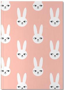 Easter Bunny Peach