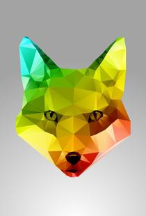 Glass Fox Face