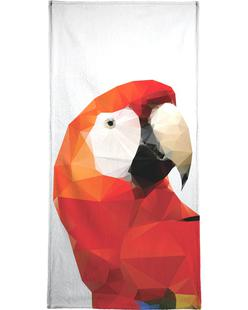 Geo Parrot Red
