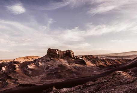 Valle de la Luna Hill