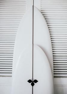 Beach Surf Board Symmetrie