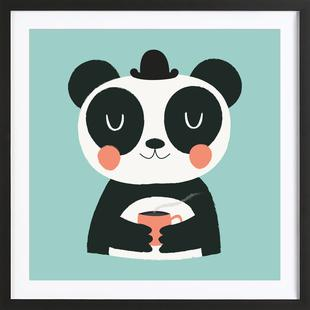Panda Loves Coffee