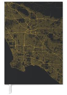 Traffic Los Angeles Yellow