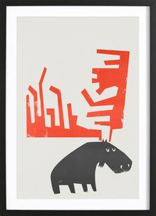 Grumpy Moose