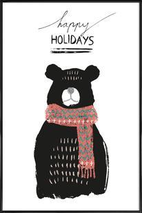 Happy Holidays - Bear