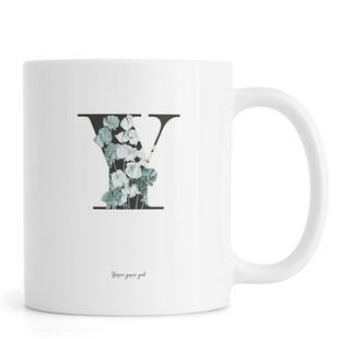 Flower Alphabet - Y