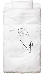One Line Night Bird