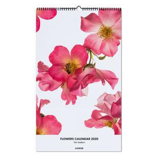 Flowers Calendar 2020 - Tan Kadam