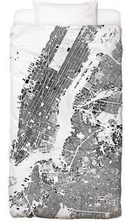 New York Map Schwarzplan