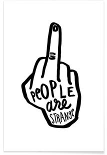 People Are Strange B&W
