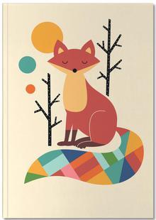 Rainbow Fox