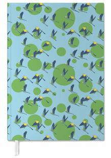 Polka Parrots