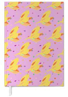 Confetti Yellow Parrots