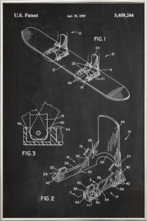 Modern Snowboard