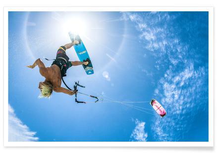 Kiteboarder Sun
