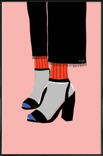 Socks and Heel