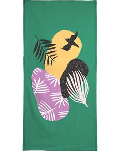Tropical Bird in Green