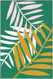 Palm Leaves in Green