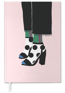 Polka Dot Socks in Heels