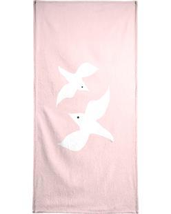 Tropical Bird in Pink