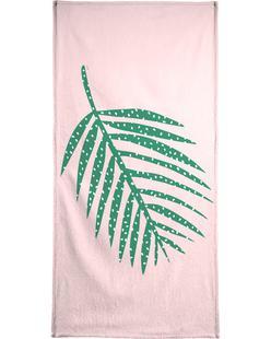 Polka Dot Leaf in Pink