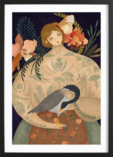 Wild Geese Lady