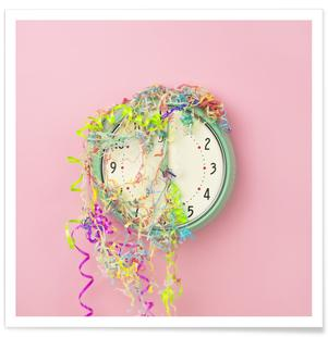 Clock Confetti