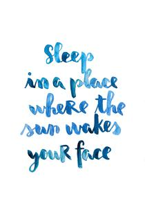 Sleep in a Place