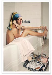 Girl with Pearl Earring Bath time