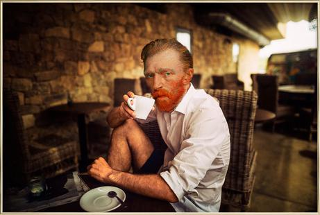 Van Gogh coffee time